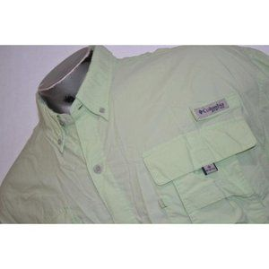 6380 Mens Columbia PFG Fishing Shirt Size 2XL
